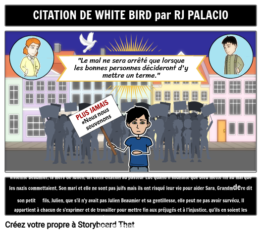 Citation D'oiseau Blanc
