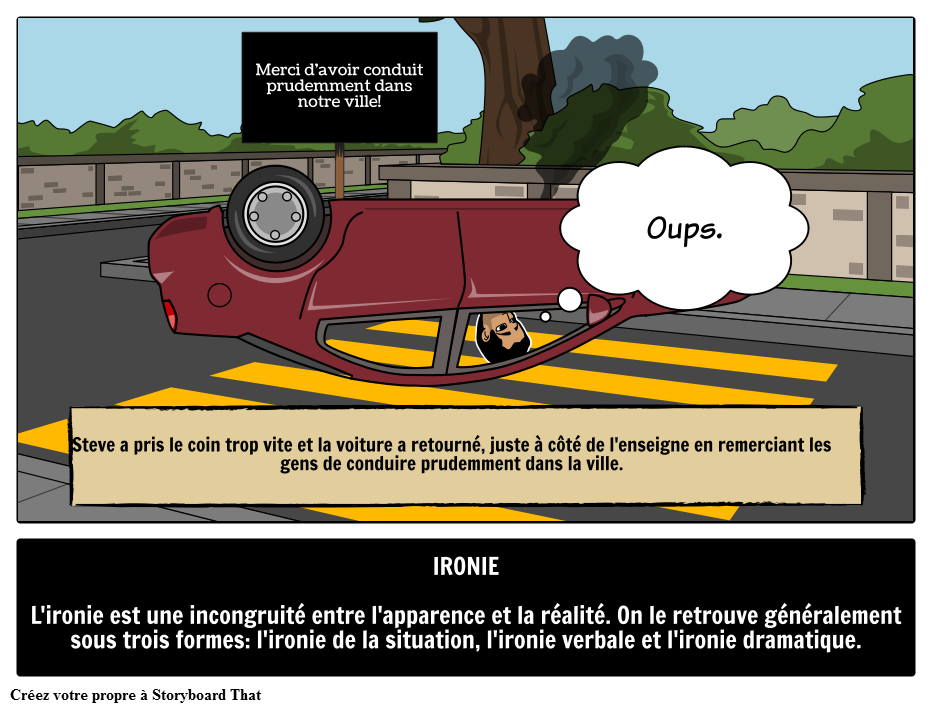 Définition, Signification et Exemples D'ironie   Termes ...