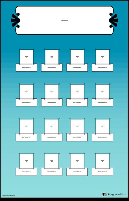 Définitions des Symboles Mathématiques Poster