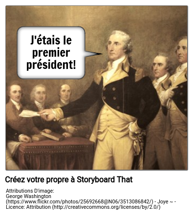Exemple de George Washington