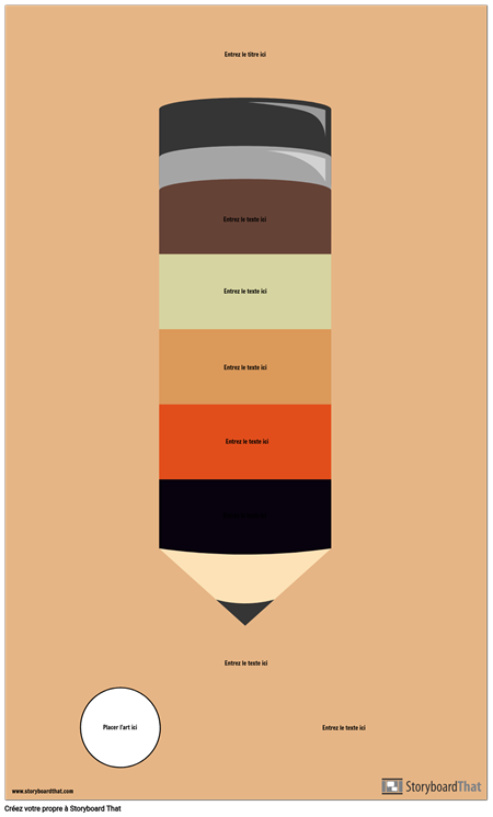Infographie au Crayon Blanc