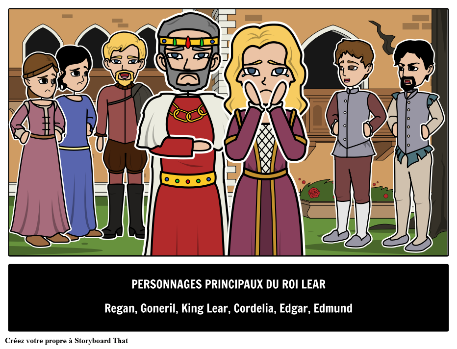 King Lear Principaux Personnages