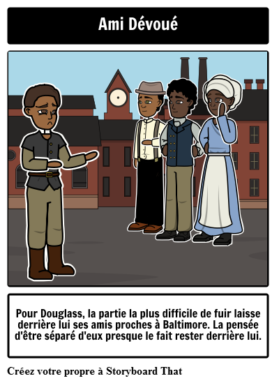 Narrative de la vie de Frederick Douglass Character Trait Square