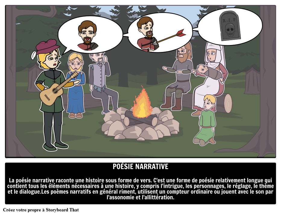 Poésie Narrative