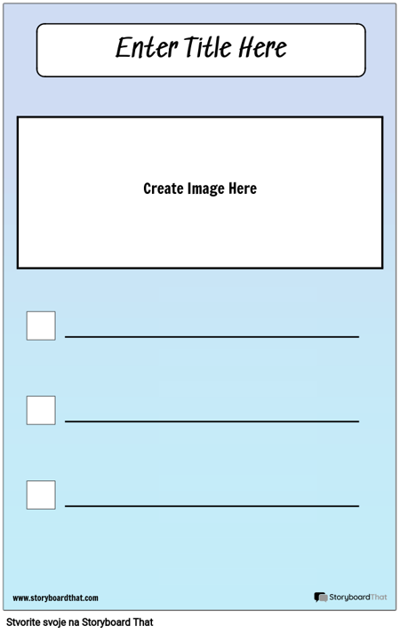 Kontrolni popis sa slikom
