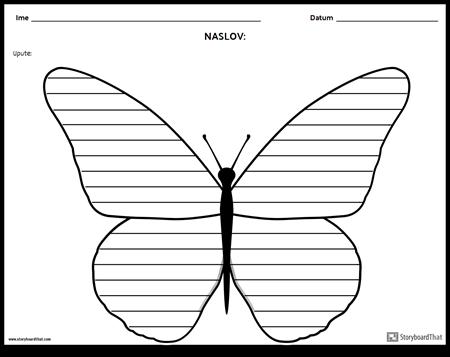 Kreativno Pisanje - Leptir