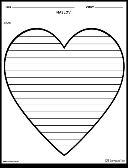 Kreativno Pisanje - Srce
