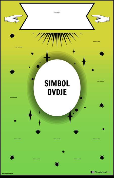 Plakat sa Simbolom Matematike
