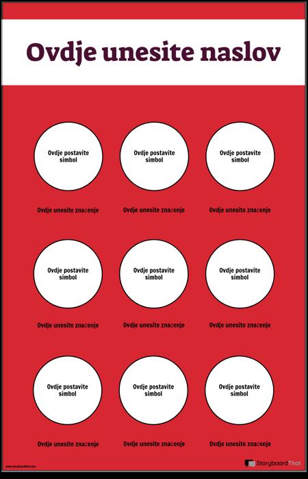 Plakat Sigurnosnih Simbola