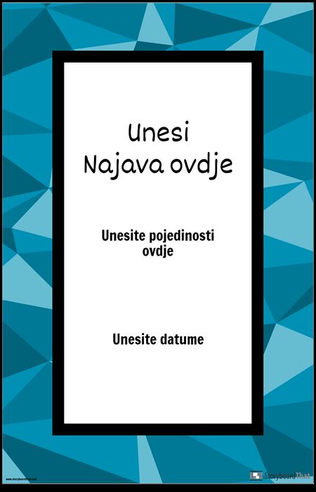 Plakat za Najavu