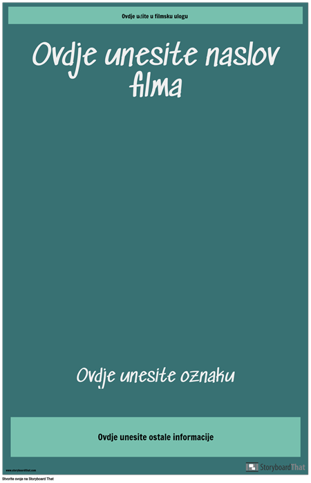Poster Filma 3