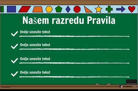 Pravila Učionice 22