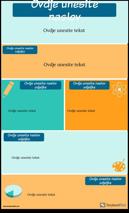 Predložak Infographic Predložak