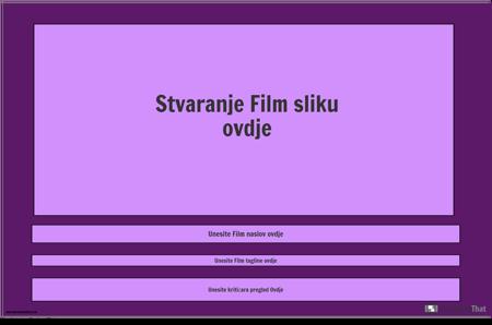 Predložak Plakata za Film, Pejzaž