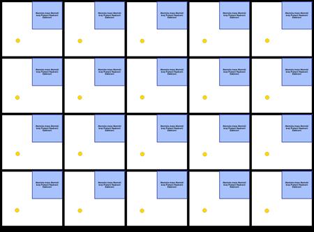 Predložak Prvih 20 Elemenata