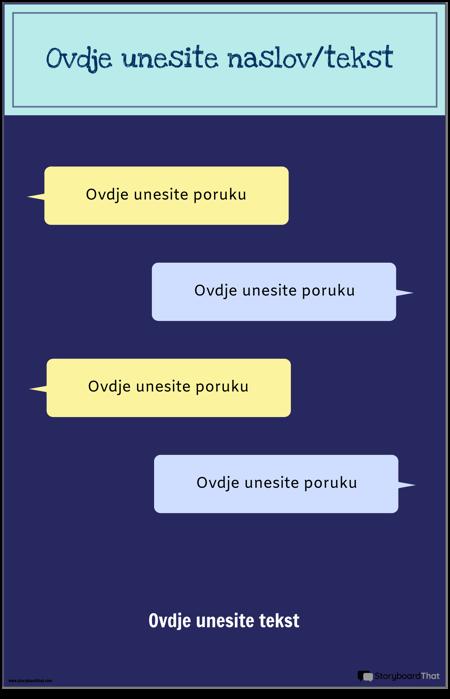 PSA Predložak za Slanje Tekstualnih Poruka