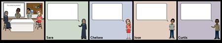 Rasprava Storyboard - Blank