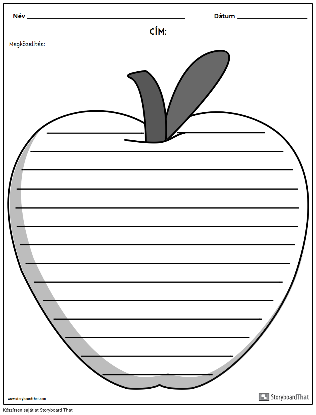 Kreatív Írás - Apple