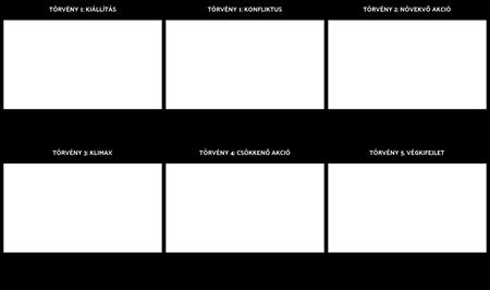 Öt-törvény Szerkezete Játék Diagram Template