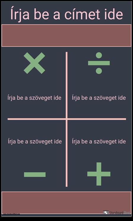 Szimbólumok Infographic