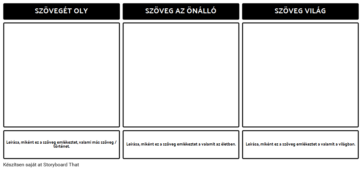 Szöveg Connections Template
