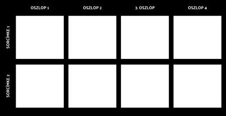 Üres 2x4 Diagram