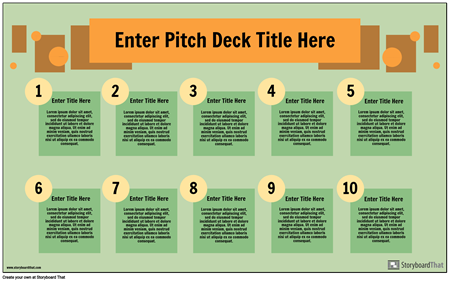 Pitch Deck infographics