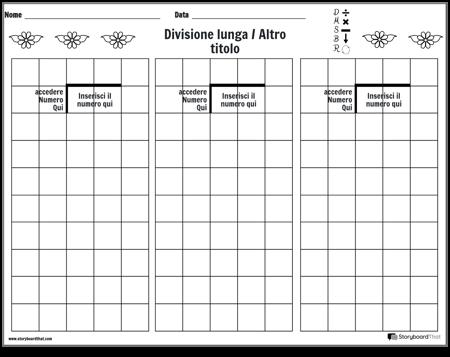 Divisione Lunga 8