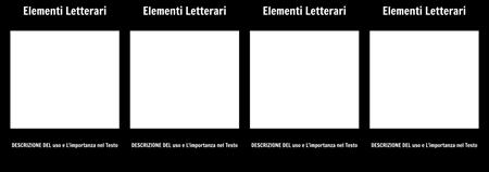 Letterario Elementi T-Grafico
