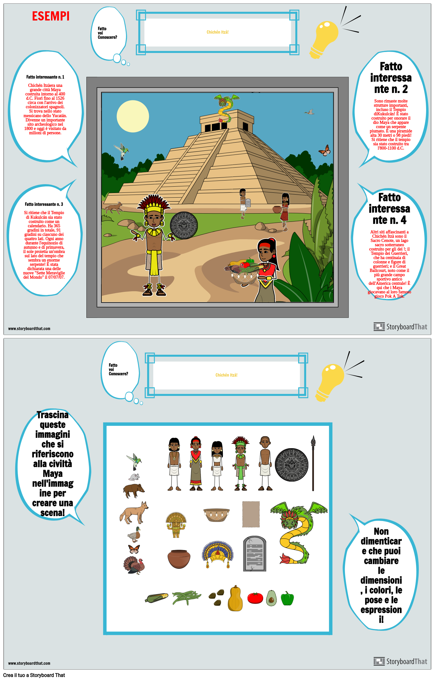 Maya Did You Know Poster Chichen-Itza Answer Key