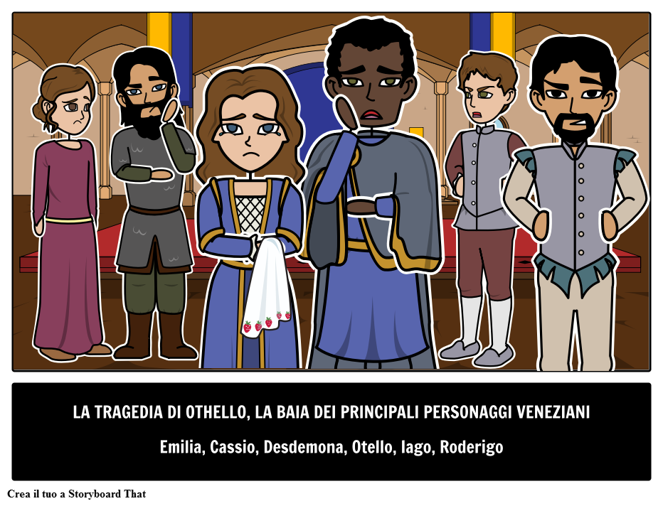 Othello Personaggi Principali