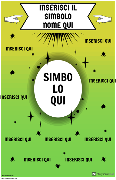 Poster di Simboli Matematici