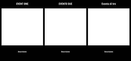 Sequenza di Eventi Template