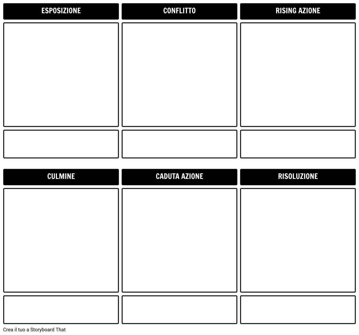 Storia Outline Storyboard Template