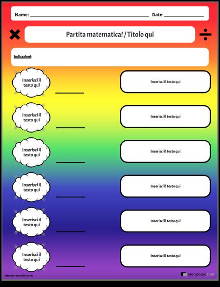 Vocabolario matematico 6
