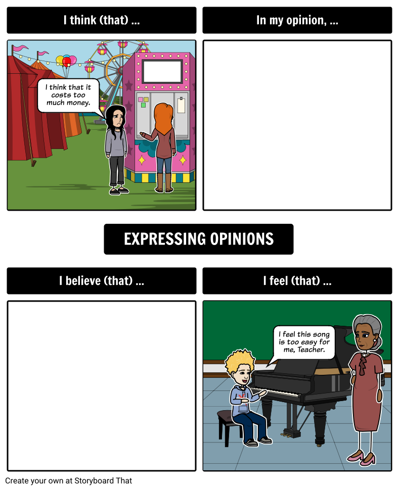 Opinion Statements
