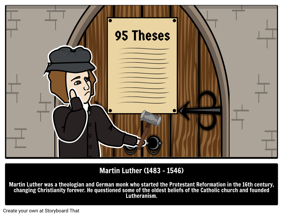 Martin Luther Biography Ninety Five Theses Lutheranism