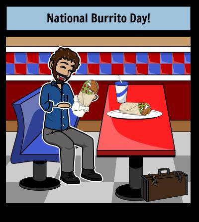 National Burrito Day