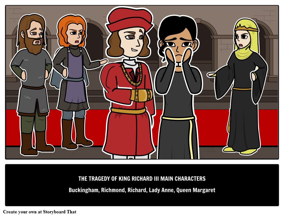 Richard III Main Characters