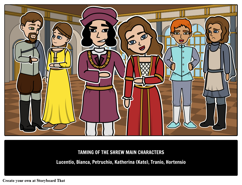 The Taming of the Shrew Main Characters