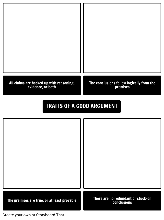 Traits of a Good Argument