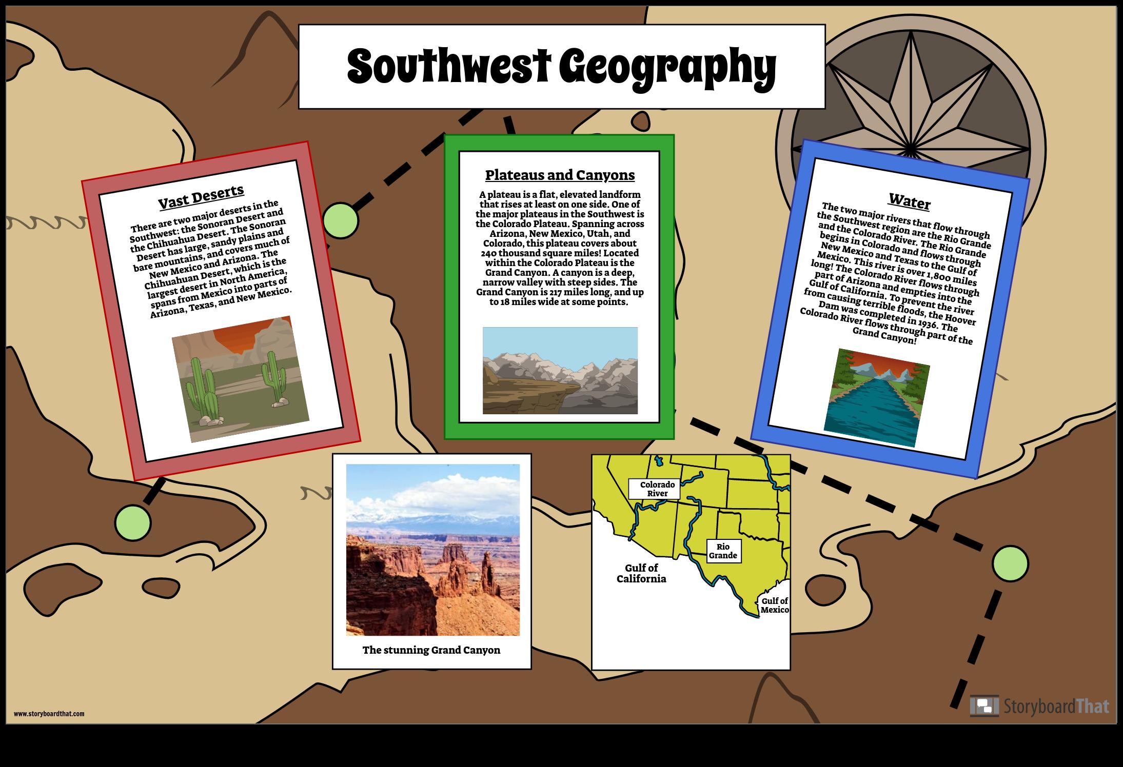 Southwest Geography