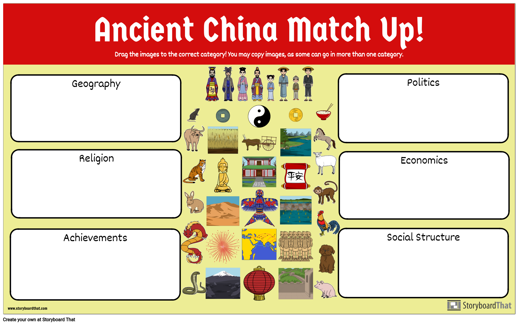 Ancient China Match Up