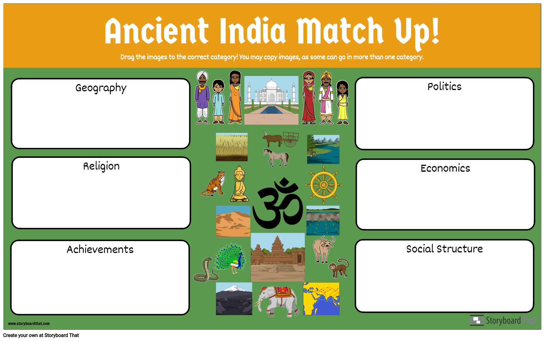 Ancient India Match Up
