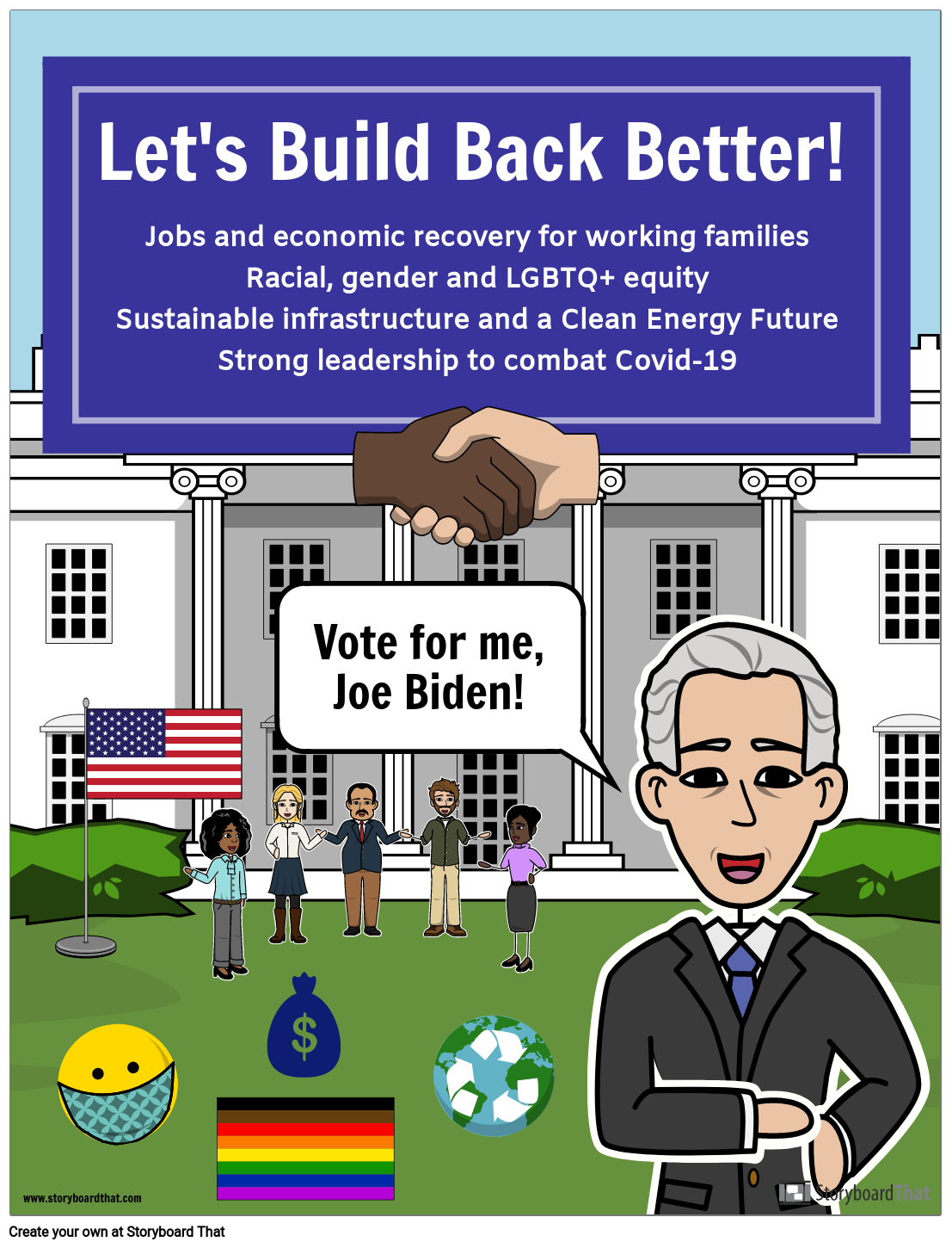 Elections: Campaign Poster for Joe Biden