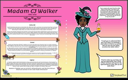 Madam CJ Walker Bio