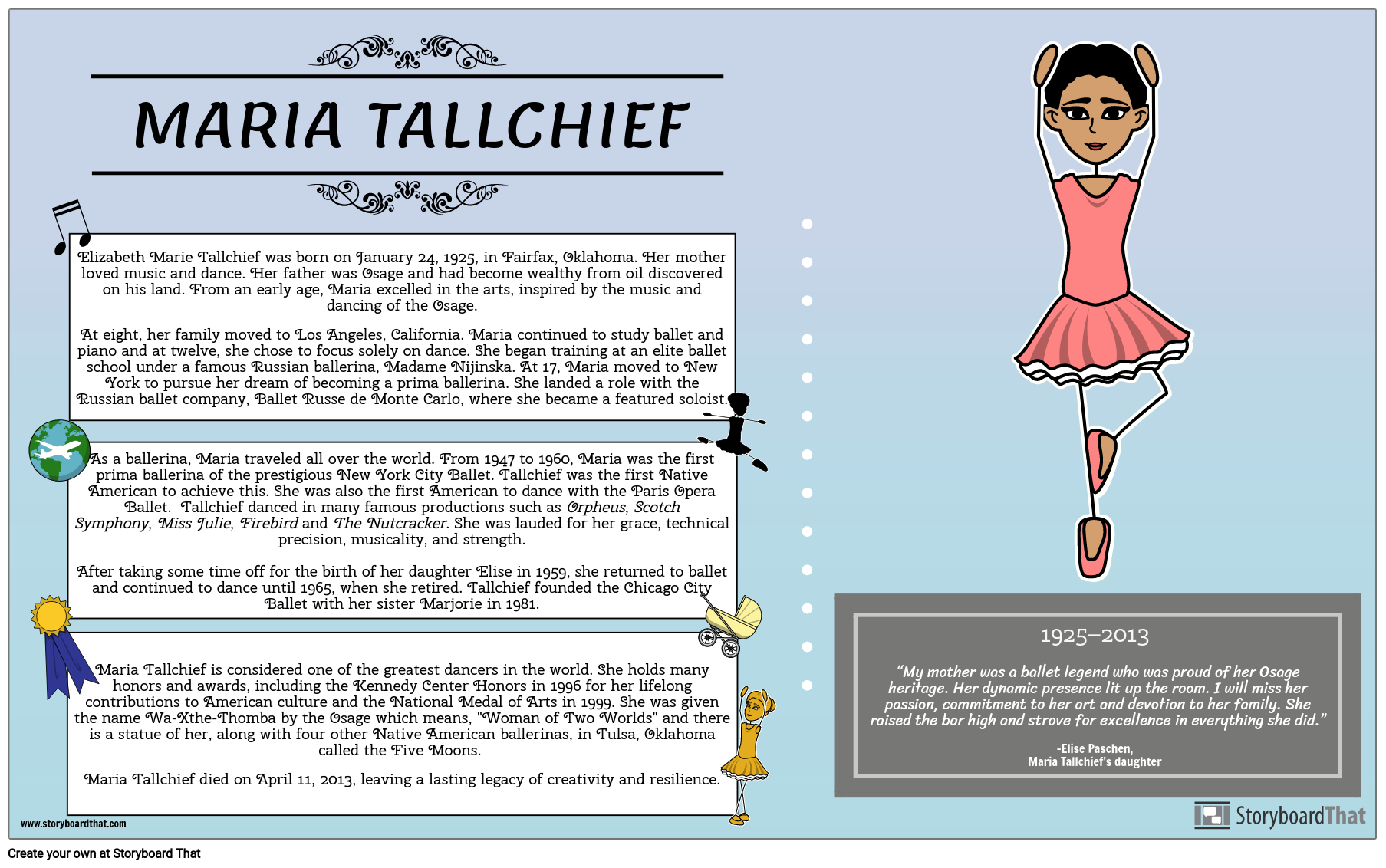 Great Plains Native Americans: Maria Tallchief Biography