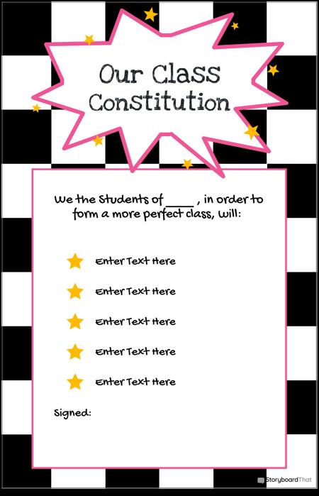 4 Klasės Konstitucija