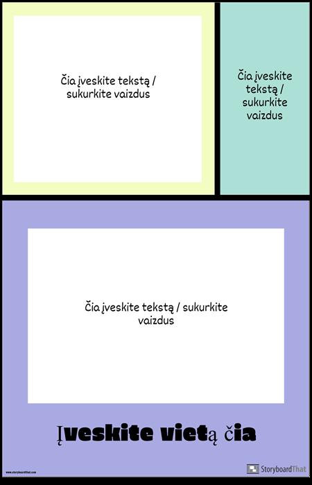Color Blocks Travel Poster