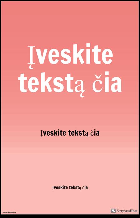 PSA Plakatas